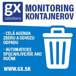 Monitoring kontajnerov