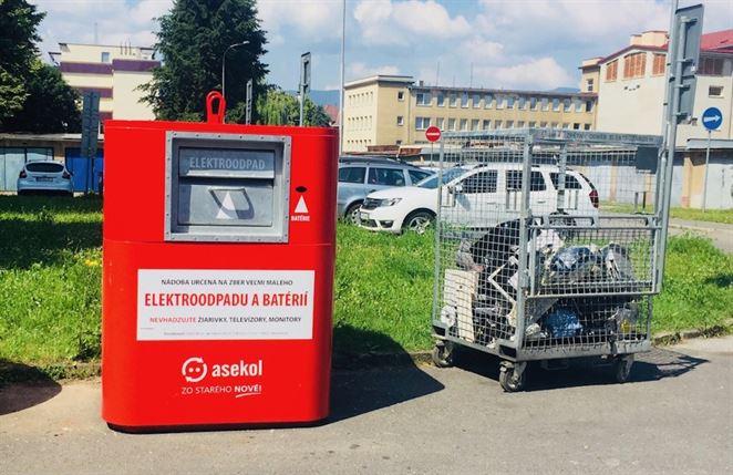 Kontajnery na drobný elektroodpad sú od júna aj v Banskej Bystrici