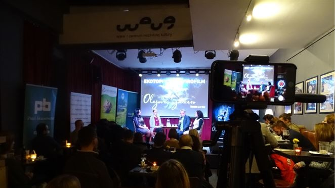 Prešovskí odborníci diskutovali o odpadoch na filmovom festivale Ekotopfilm - Envirofilm