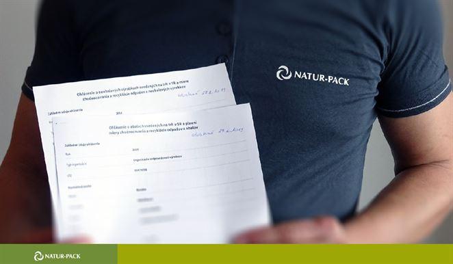 Klienti OZV NATUR-PACK majú istotu, že ich povinnosti za rok 2018 boli splnené