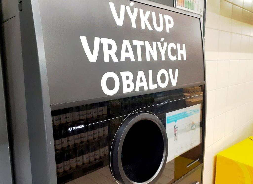 TOMRA automat