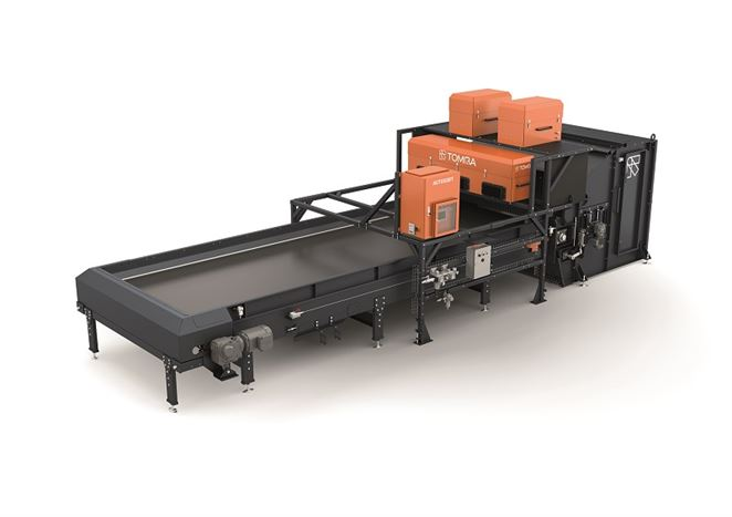 Laserový triedič odpadu zvyšuje kvalitu produktu
