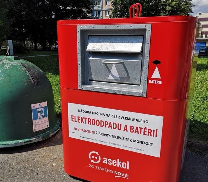 Banská Bystrica sa stala lídrom v zbere a recyklácii elektroodpadu