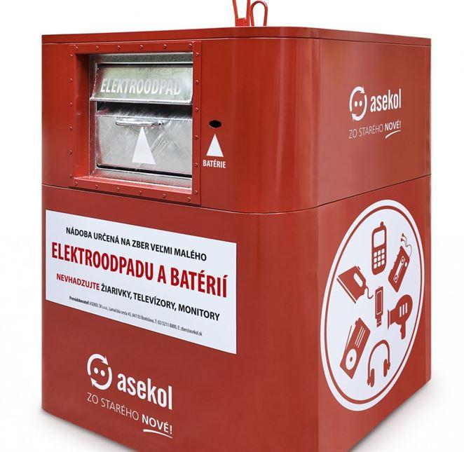 Kontajnery na zber elektroodpadu pribúdajú, dnes aj v Považskej Bystrici