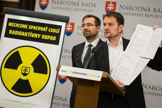 rádioaktívny odpad