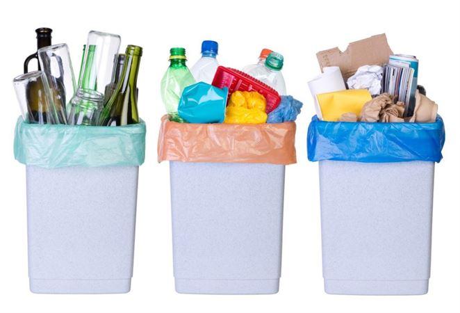 triedený zber odpadov