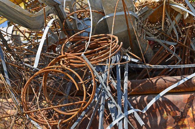 Zberňa kovošrotu v Košiciach