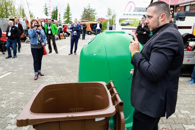 Pevnejšie kontajnery na bioodpad. Slovenský dodávateľ prináša na trh novinku