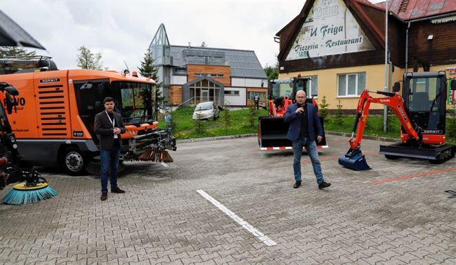 Moderné zametače aj pre smart mestá. Slovenský dodávateľ predstavil novinky vo svojom portfóliu