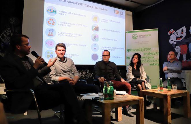 Zálohovanie PET fliaš na Slovensku (diskusia + foto)