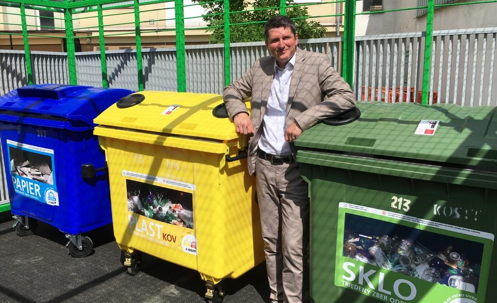 Michal Sebíň: Štát preniesol recyklačné ciele na výrobcov. Prvotná motivácia triediť odpad je na nich