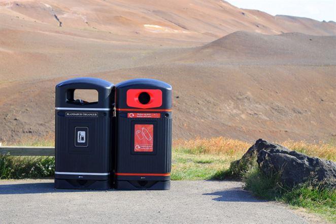 Fotoreportáž: Ako triedia odpad na Islande?