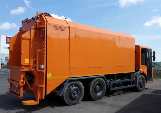 Porovnanie nadstavieb na zvoz odpadu