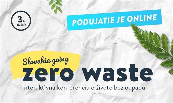Pozvánka na konferenciu: Slovakia Going Zero Waste 2020