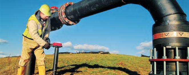 Prevádzkovateľ skládky odpadu využíva metán v nákladných vozidlách