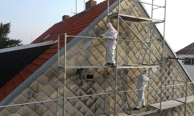 Azbestový štít