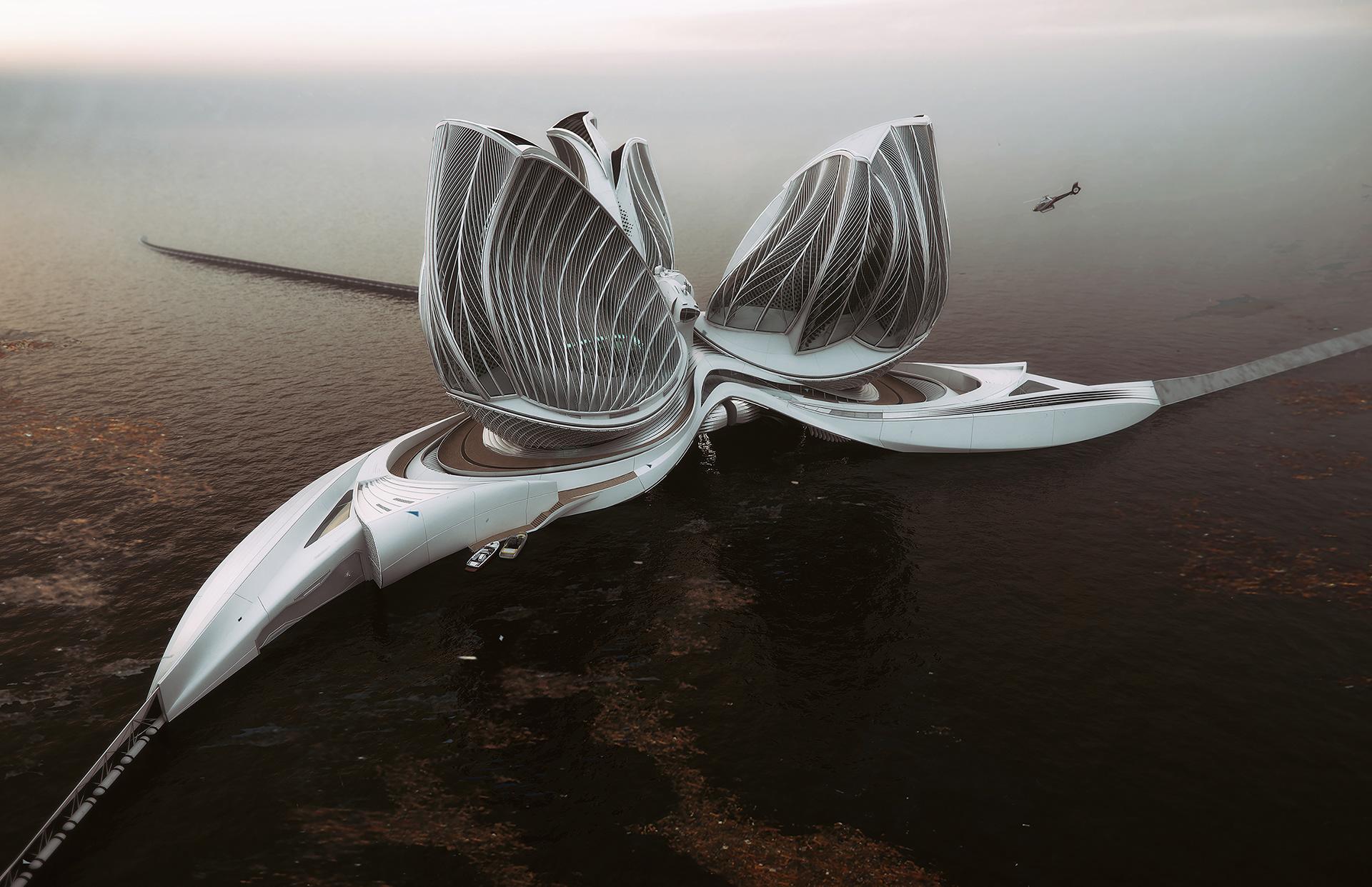 Plávajúca stanica čistí oceán od plastov. Slovenka za ňu získala prestížnu cenu