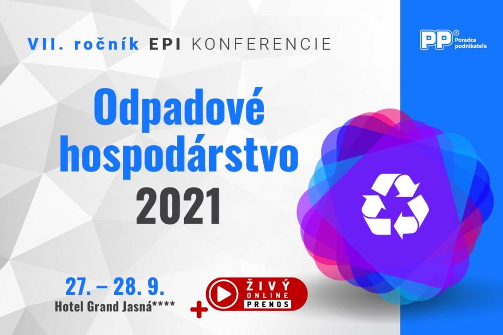 Pozvánka na konferenciu: Najdôležitejšie legislatívne zmeny v oblasti odpadov za posledných 20 rokov?