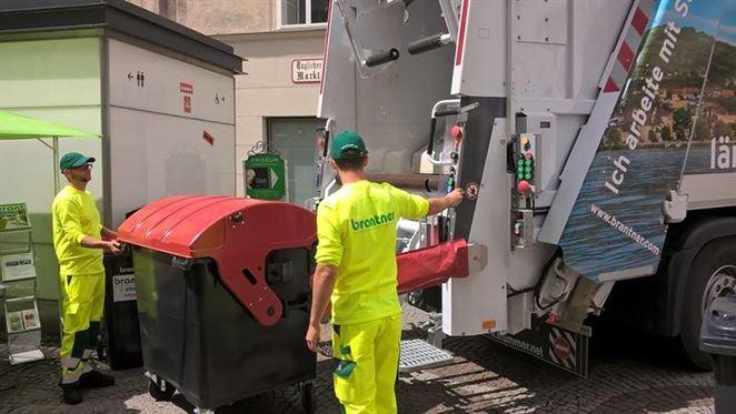 Brantner používa prvé hybridné vozidlo na zber odpadu