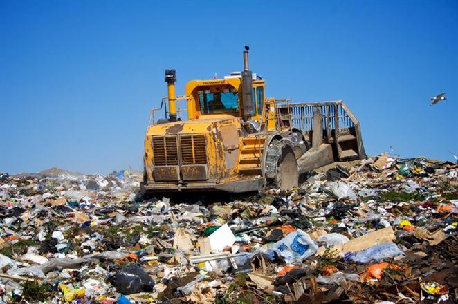 skládka odpadov