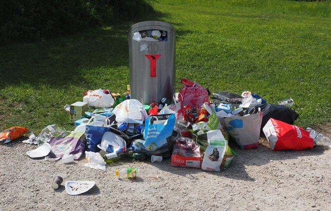 Príroda opäť ľahšie dýcha. Dobrovoľníci vyzbierali stovky vriec odpadu