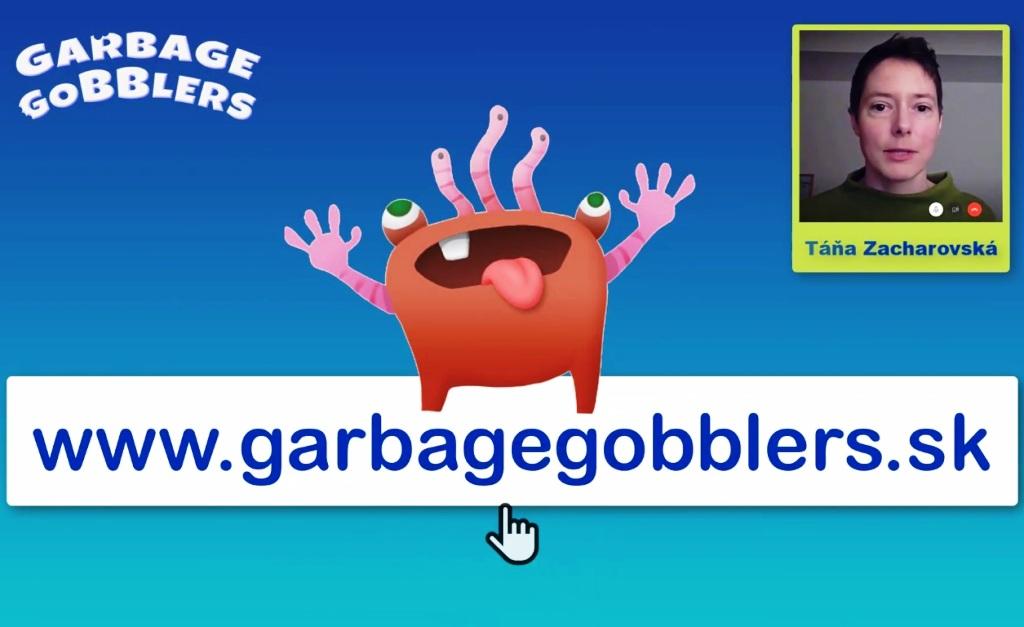 Vzdelávací portál Garbage Gobblers vyhral cenu Zlatý mravec 2020