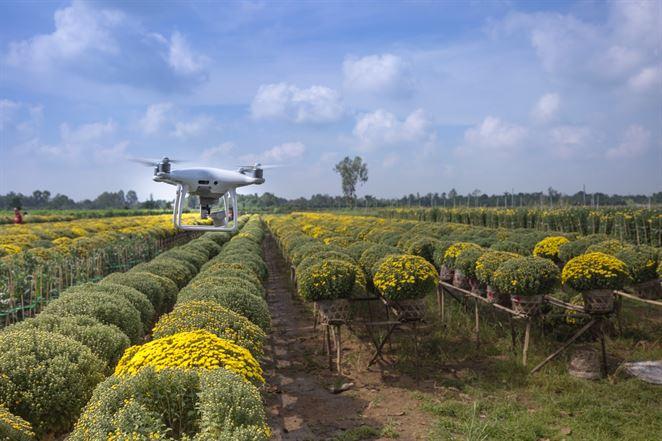 K trvalej udržateľnosti posúvajú poľnohospodárov drony