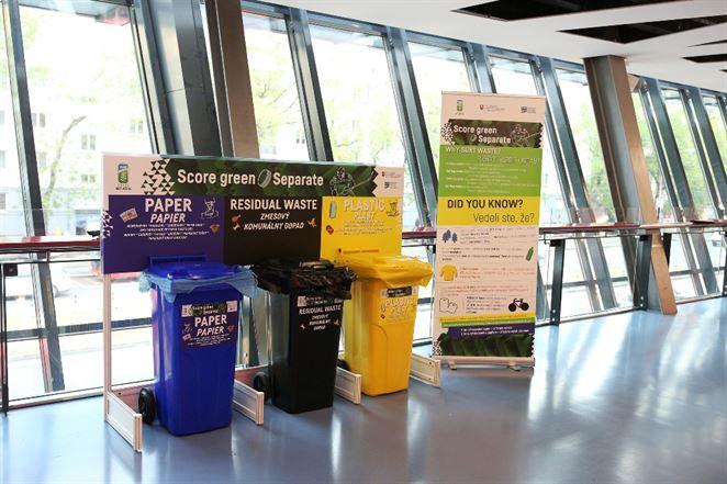Na majstrovstvách sveta v hokeji sa podarilo vytriediť 56 % odpadu