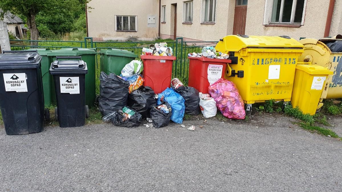 Tvorba odpadu na Slovensku rástla aj v roku 2020, padol nový rekord
