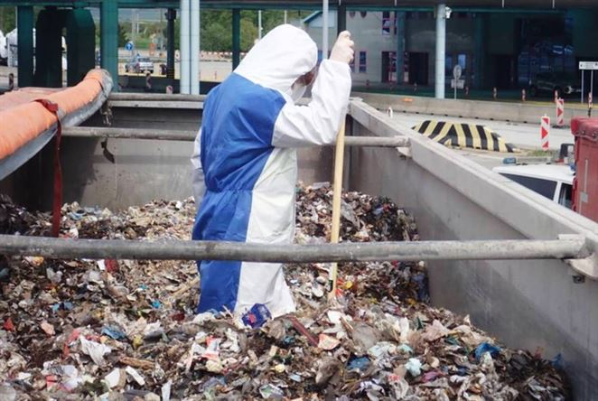 kontrola odpadu
