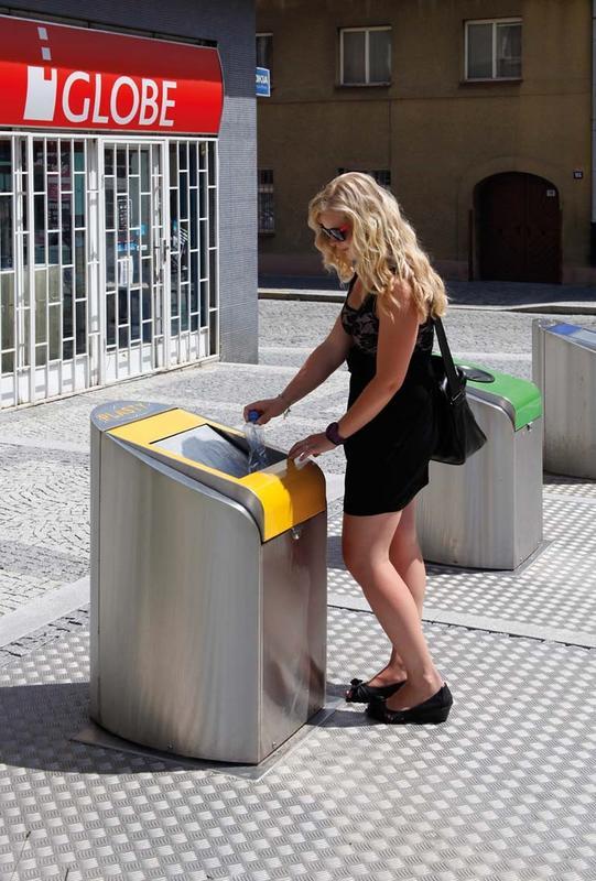 Podzemné kontajnery spoločnosti MEVA čistia mestá