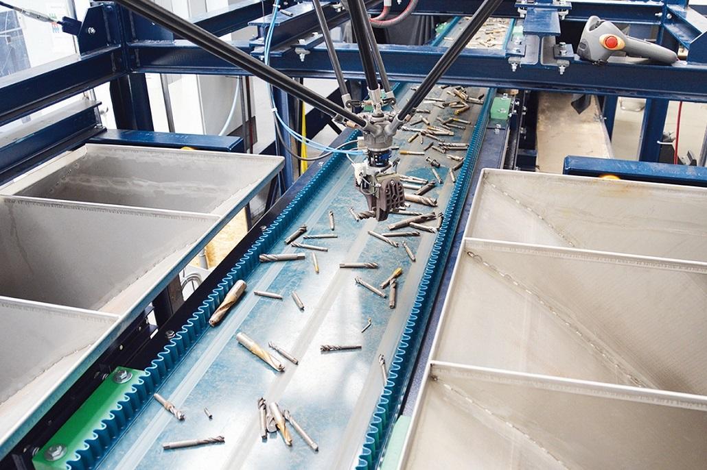 Nová laserová senzorová technológia sľubuje vyššiu efektívnosť recyklácie kovového šrotu