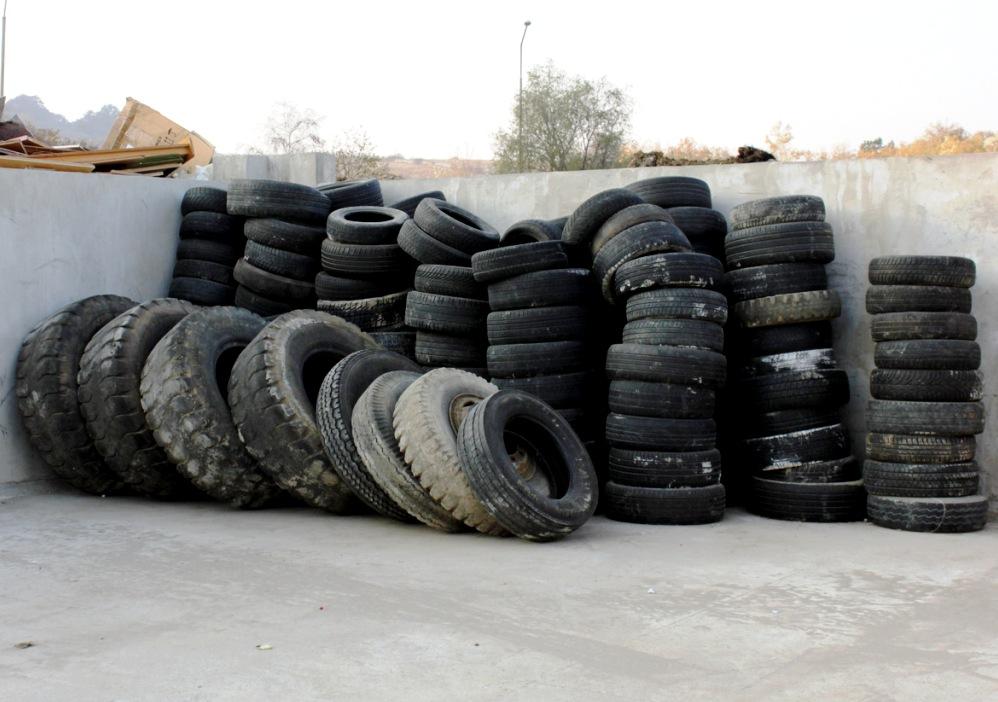 odpadové pneumatiky