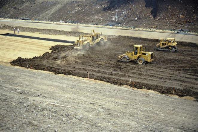 Toxická skládka odpadu bez úniku nebezpečných látok