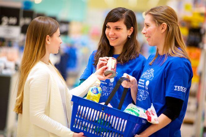 Tesco zorganizovalo po šiestykrát najväčšiu Potravinovú zbierku na Slovensku