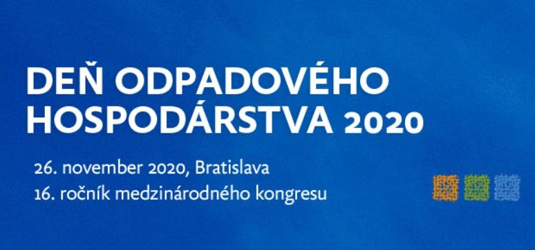 Pozvánka na konferenciu: Deň odpadového hospodárstva 2020