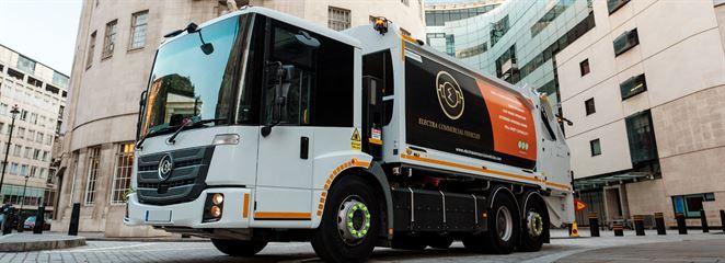 Londýn sa stane prvým mestom, kde budú jazdiť iba elektrické smetiarske vozidlá