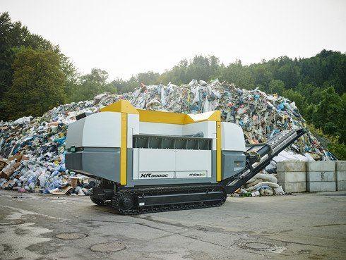 Mobilný univerzálny drvič si poradí s každým odpadom