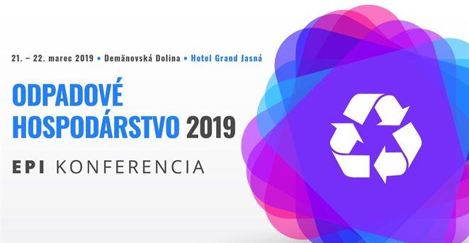 Pozvánka na konferenciu: Odpadové hospodárstvo 2019