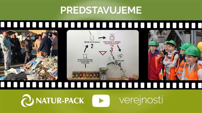 NATUR-PACK spúšťa pravidelné témy na svojom YouTube kanáli