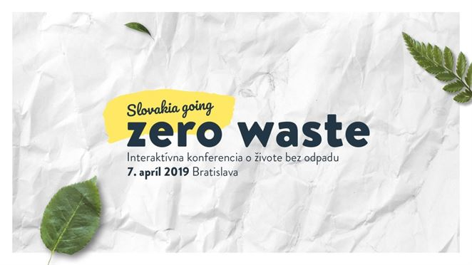 Pozvánka na konferenciu: Slovakia Going Zero Waste