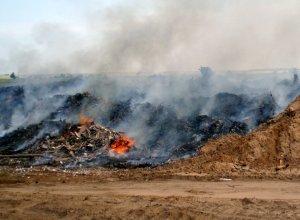 Medzi požiarmi dominujú horiace skládky (II. časť)