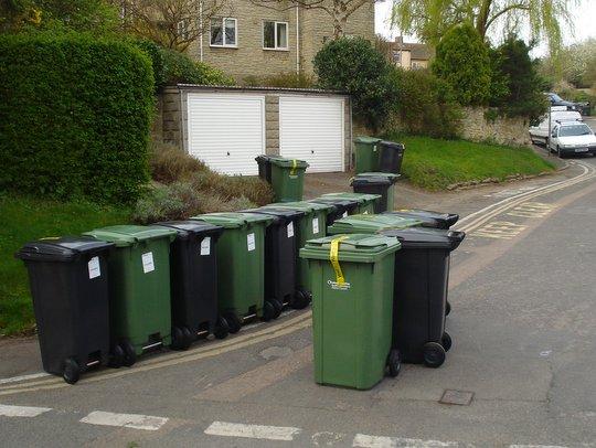 Domový odpad vo Veľkej Británii
