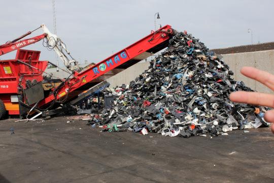 Novú linku na plasty zautomobilov zadotuje Recyklačný fond sumou 1,72 milióna eur
