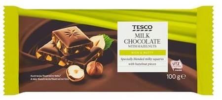 """c4f66c24f51c6 """"Sme hrdí na to, že Tesco čokolády vlastnej značky sú vyrábané z kakaa s  UTZ certifikátom. Chceme ponúknuť zákazníkovi ten najsladší pôžitok z  čokolády, ..."""